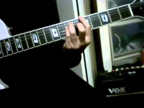 guitar demo Ultravox - New Europeans