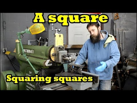 Accurate Metal Shaper Work :-) Squaring Fireball tool squares.