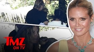 Heidi Klum's Daughter Meets with Biological Father! | TMZ TV