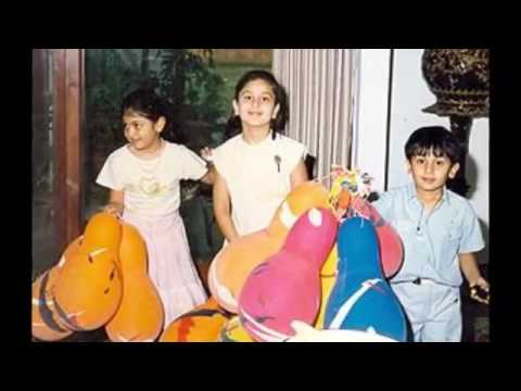 Karishma Kapoor and Kareena Kapoor Childhood Photos - YouTube
