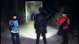[TUNNEL 13] The Most HAUNTED Train Tunnel in Truckee California! | Donner Train Tunnels Ep2