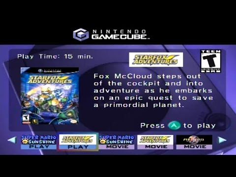 Interactive multi-game demo disc august 2002 (gamecube) trailers n gameplay