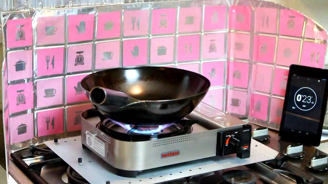 Find A Gas Station >> Wok fire under a minute with Iwatani 35FW portable burner ...