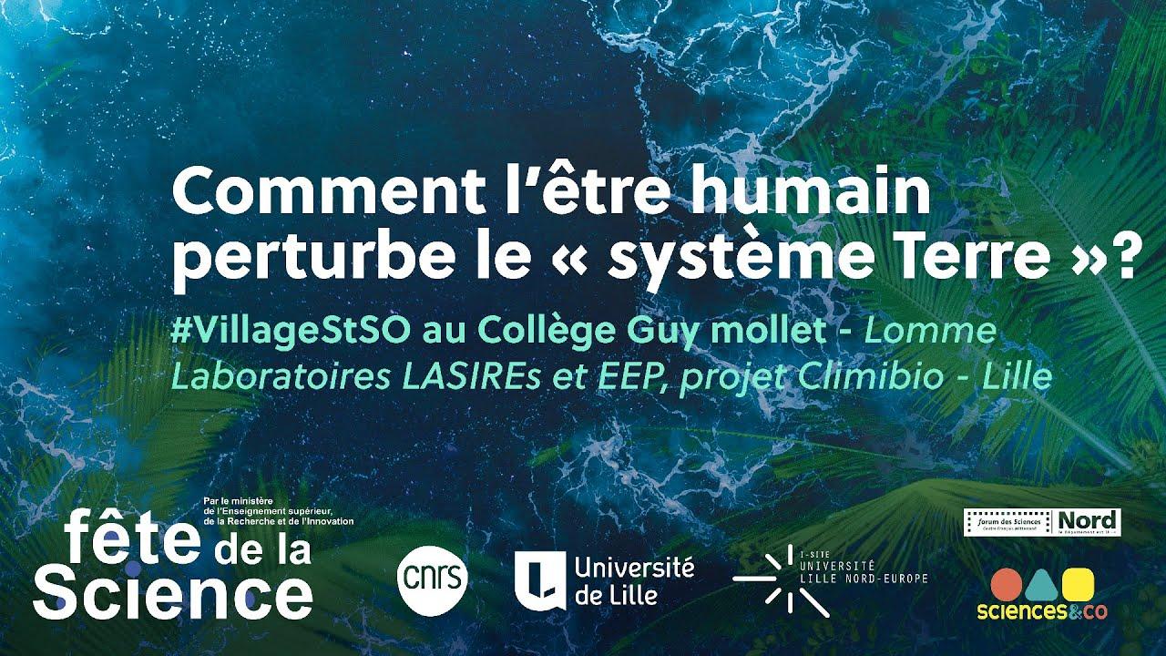 Youtube Video: #VillageSTSO - Fête de la science 2020 - 9 Octobre