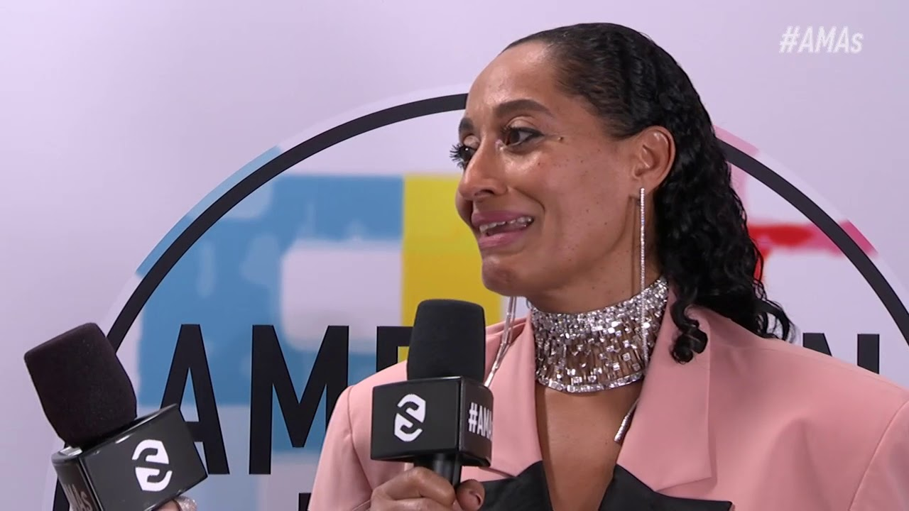 Tracee Ellis Ross Red Carpet Interview - AMAs 2018
