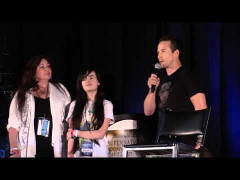 Travis Aaron Wade and Jule NJCon 2015 Supernatural