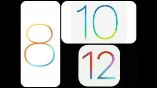Iphone 5s ios 8 vs 10 vs 12