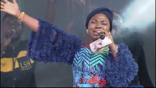 Mercy Chinwo with her Angelic voice This is thrilling Feels like Heaven already A must watch
