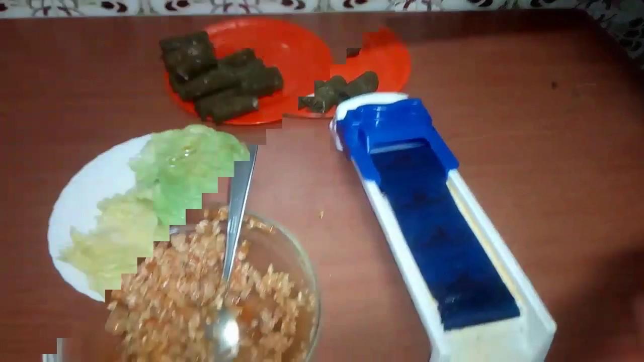 DOLMER  -  готовим голубцы из капусты и виноградных листьев