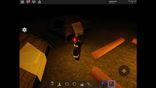 Roblox: survive the scp-087-B (part #1 (surviving a night)