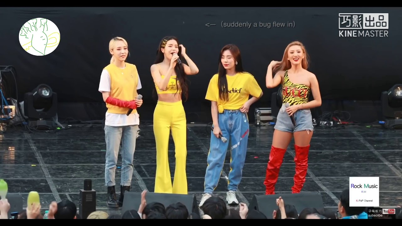 MAMAMOO REACTION TO YONG (feat. bug)