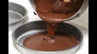 Chocolate Sheet Cake - How To