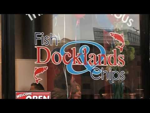 Docklands fish and chips open at Liverpool's Albert Dock