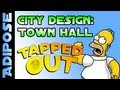 Simpsons Tapped out-Town Hall-City Design