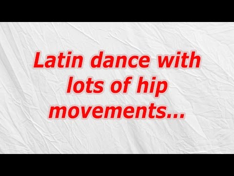 Latin dance with lots of hip movements (CodyCross Crossword Answer)