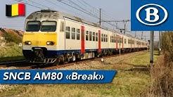 SNCB (2ND CLASS) | AM80 | Brussels Zuid 🇧🇪 - Tournai 🇧🇪 |