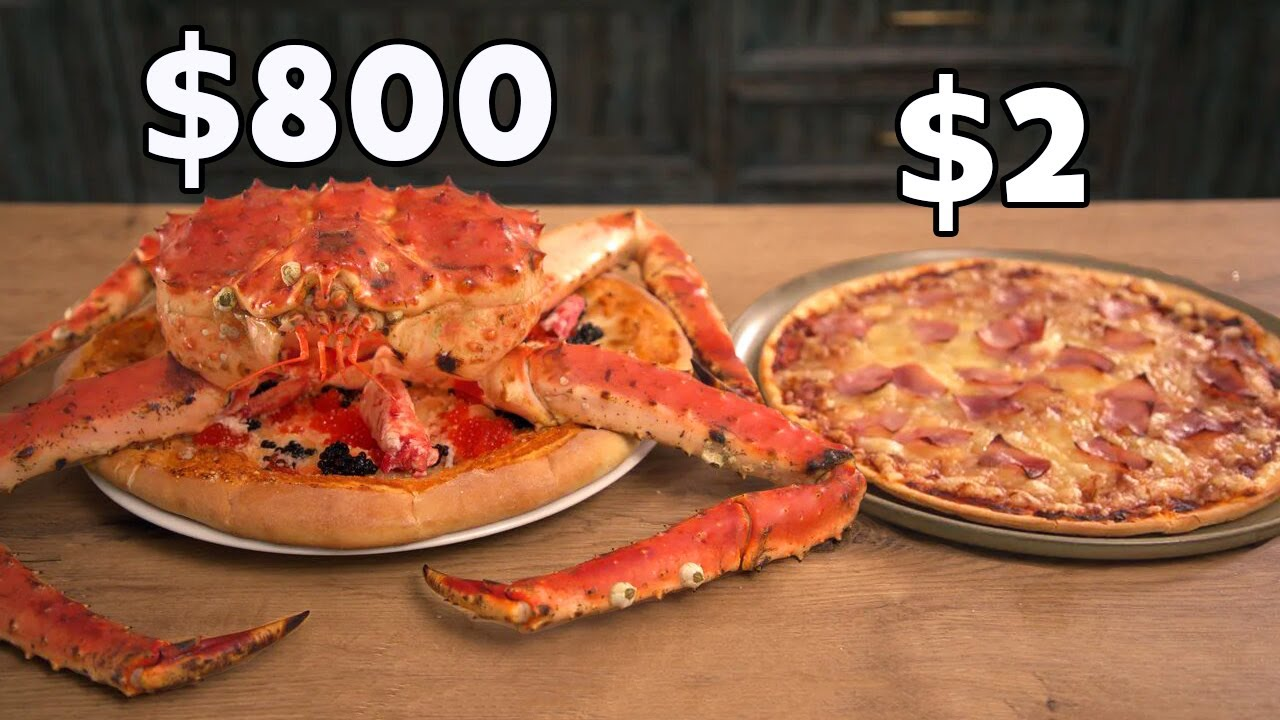 How To Cook a Cheap and an Expensive Pizza?