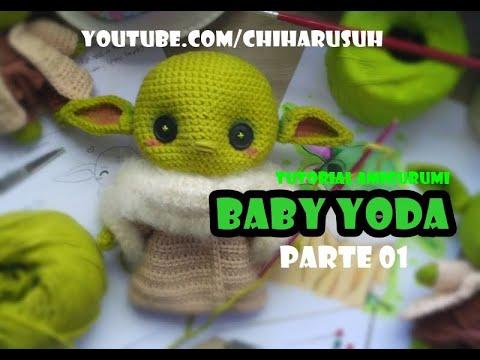 Chibi Mestre Yoda - Amigurumi Padrão by Chiharu Suh | Amigurumi de ... | 360x480