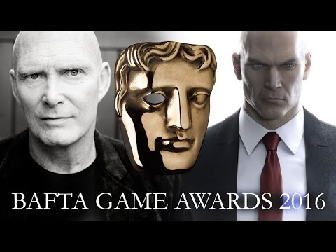 David Bateson (Hitman's Agent 47) with The Sound Architect at the BAFTA Games Awards 2016