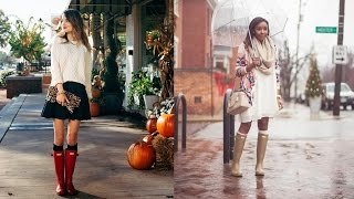 Rain boots for women - 20 Style Tips On How To Wear Rain Boots For Women