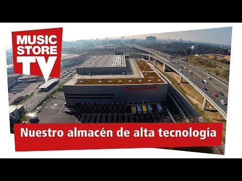 Nuestro almacén de alta tecnología de MUSIC STORE professional