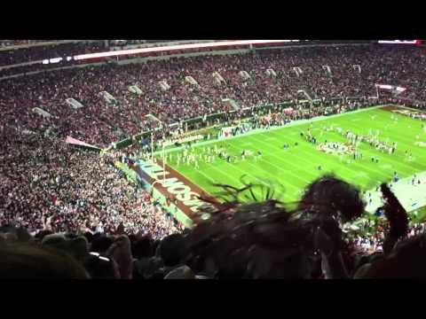"""Sweet Home Alabama"" at Bryant-Denny Stadium"