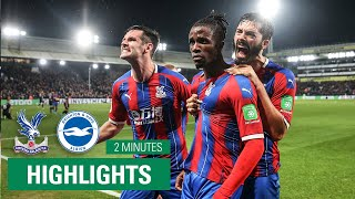 MATCH HIGHLIGHTS | Crystal Palace 1-1 Brighton