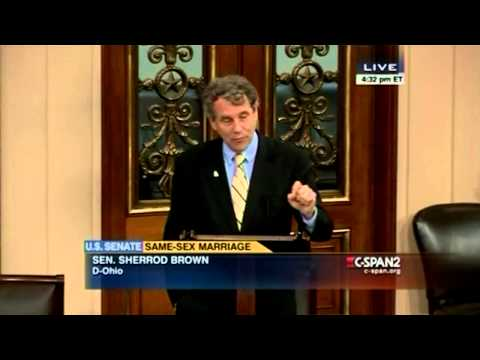 Sherrod Brown on Marriage Equality