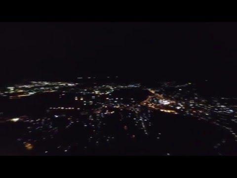 測量山ライトアップ空撮 by hiroseki0716 on YouTube
