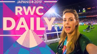 Kiwi vs Springbok! | Rugby World Cup Daily | Episode 4