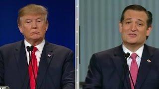 Cruz, Trump debate 'New York values'