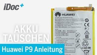 Huawei P9 - Akku Austausch / replacing the battery