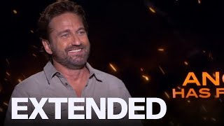 Gerard Butler On Working With Morgan Freeman | EXTENDED