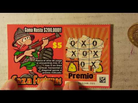 MEXICO SCRATCH OFF TICKETS! + CONTEST WINNER!!!!