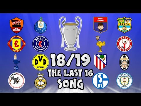 🏆THE LAST 16🏆 Champions League Song - 18/19 Intro Parody Theme! Mp3