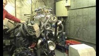 Blown 400 Chevy Dyno