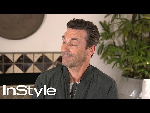 Jon Hamm Reveals His First Celebrity Crush  | InStyle