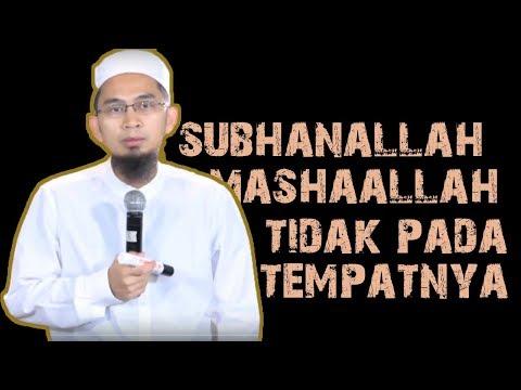 Hati-hati Ucapan Subhanallah dan...