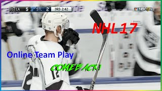 NHL 17 ONLINE TEAM PLAY (COMEBACK!!!)