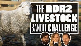 Red Dead Redemption 2 Bandit Challenge - TURNING LIVESTOCK INTO DEADSTOCK