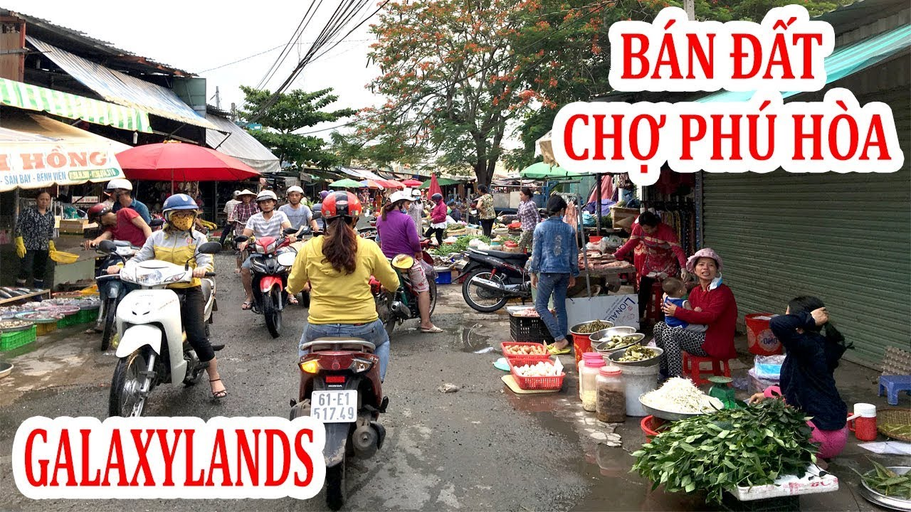 Bán Đất Mặt Tiền Kinh Doanh Chợ Phú Hòa, Thủ Dầu Một, Bình Dương