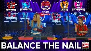 Balance The Nail   Game Show Aisay Chalay Ga League Season 4   Danish Taimoor Show   2nd Eliminator