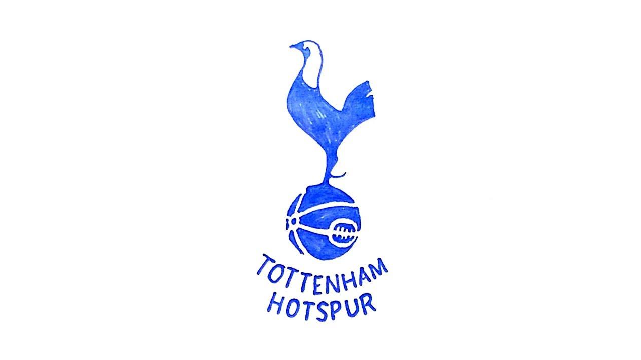 How To Draw The Tottenham Hotspur Logo Youtube