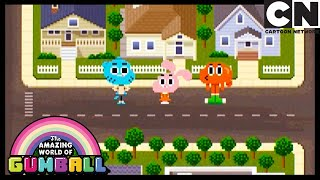 Gumball Disfigures His Girlfriend | The Console | Gumball | Cartoon Network