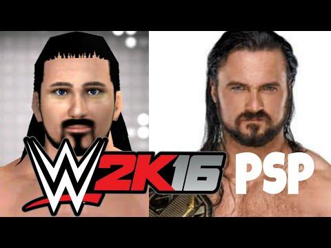 WWE 11 PSP/2K16 PSP Caws Drew McIntyre 2019