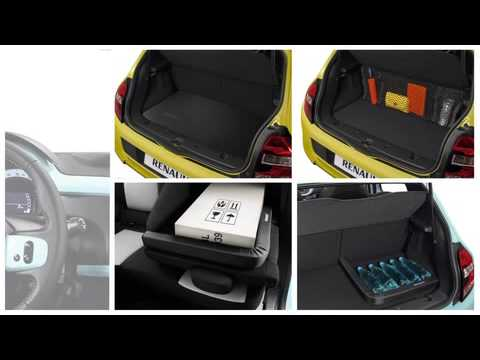 accessoires nouvelle renault twingo youtube. Black Bedroom Furniture Sets. Home Design Ideas