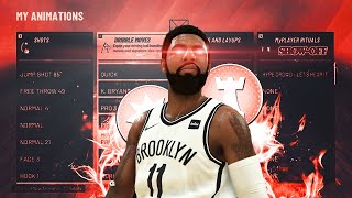 REVEALING THE BEST DRIBBLE MOVES & JUMPSHOT ON NBA 2K20! GLITCHEST SIGNATURE STYLES TO HELP YOU ISO