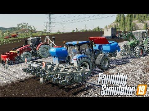 Siew Kukurydzy Na 20 Hektarach. #74 Felsbrunn ☆ Farming Simulator 19 ☆ ㋡ Anton