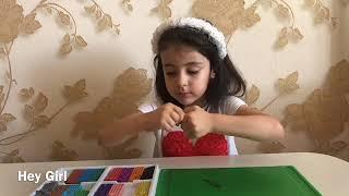 Уроки лепки/ лепим ёжика из пластилина/ лепка для детей