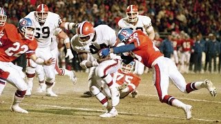 'The Fumble' 1987 AFC Championship: Browns vs. Broncos highlights